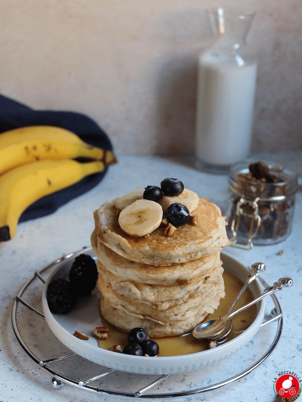 La Mozzarella in Carrozza - Banana pancakes