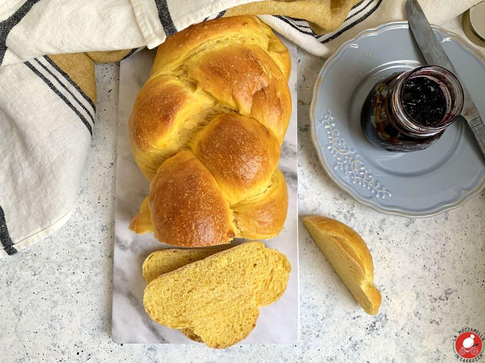 La Mozzarella in Carrozza - Pane alla zucca
