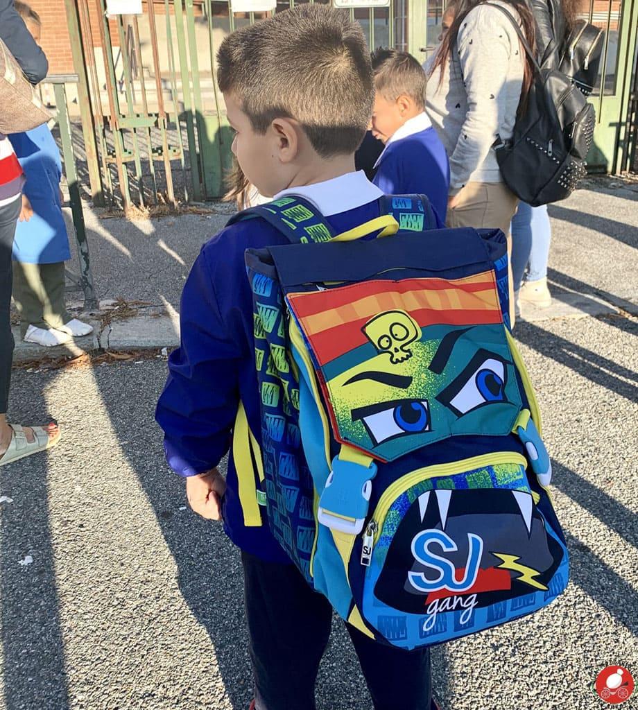 La Mozzarella in Carrozza - Il primo giorno di scuola