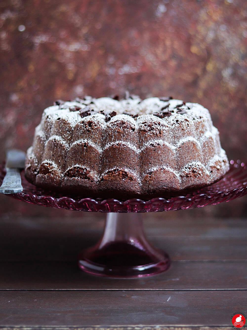 La Mozzarella In Carrozza - Bundt cake al cioccolato e caffè