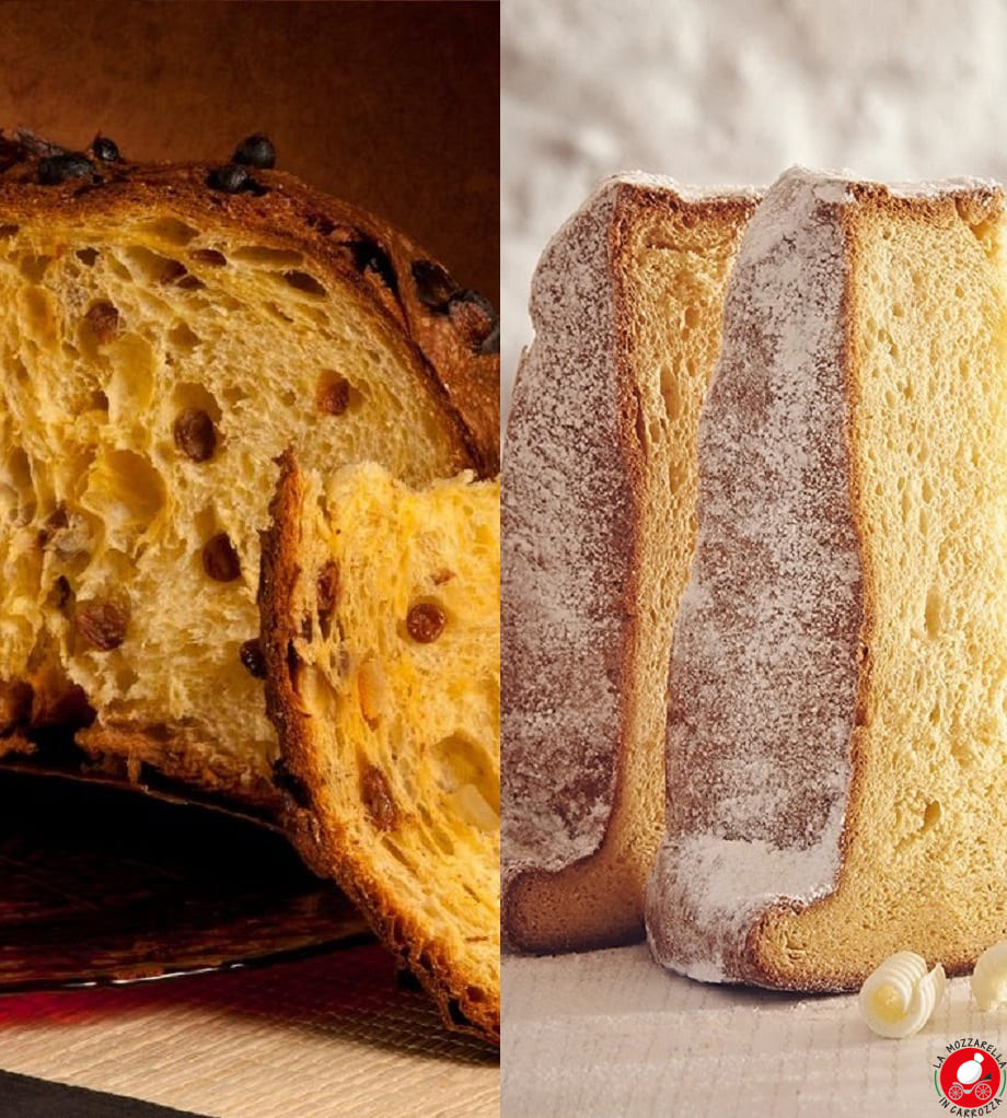 La Mozzarella in Carrozza - Panettone o Pandoro? Pandoro o Panettone?