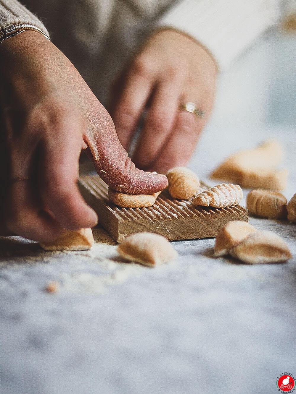 La Mozzarella In Carrozza - Gnocchi di zucca