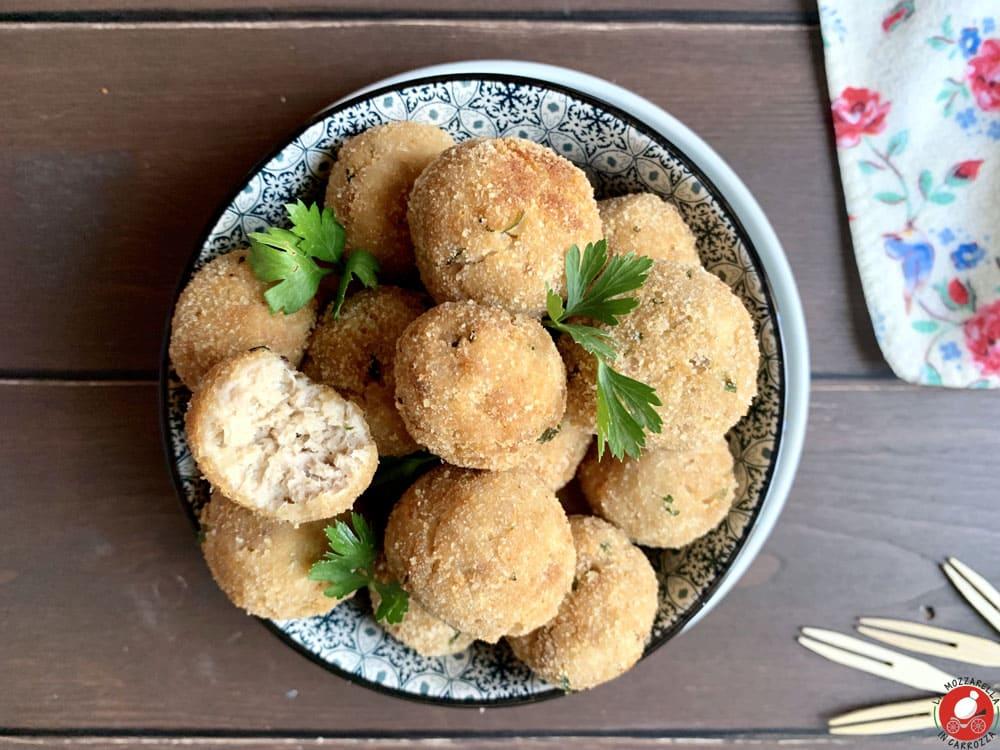 La Mozzarella In Carrozza - Polpettine del riciclo