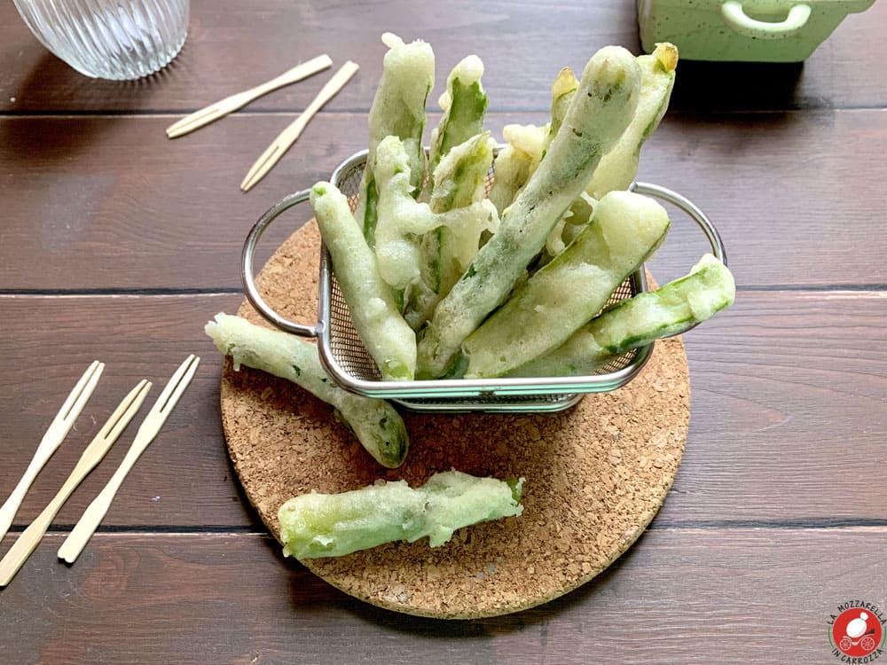 La Mozzarella In Carrozza - Asparagus tempura