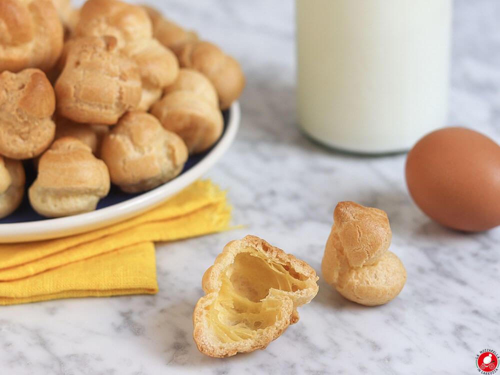 La Mozzarella In Carrozza - Pasta choux per bignè