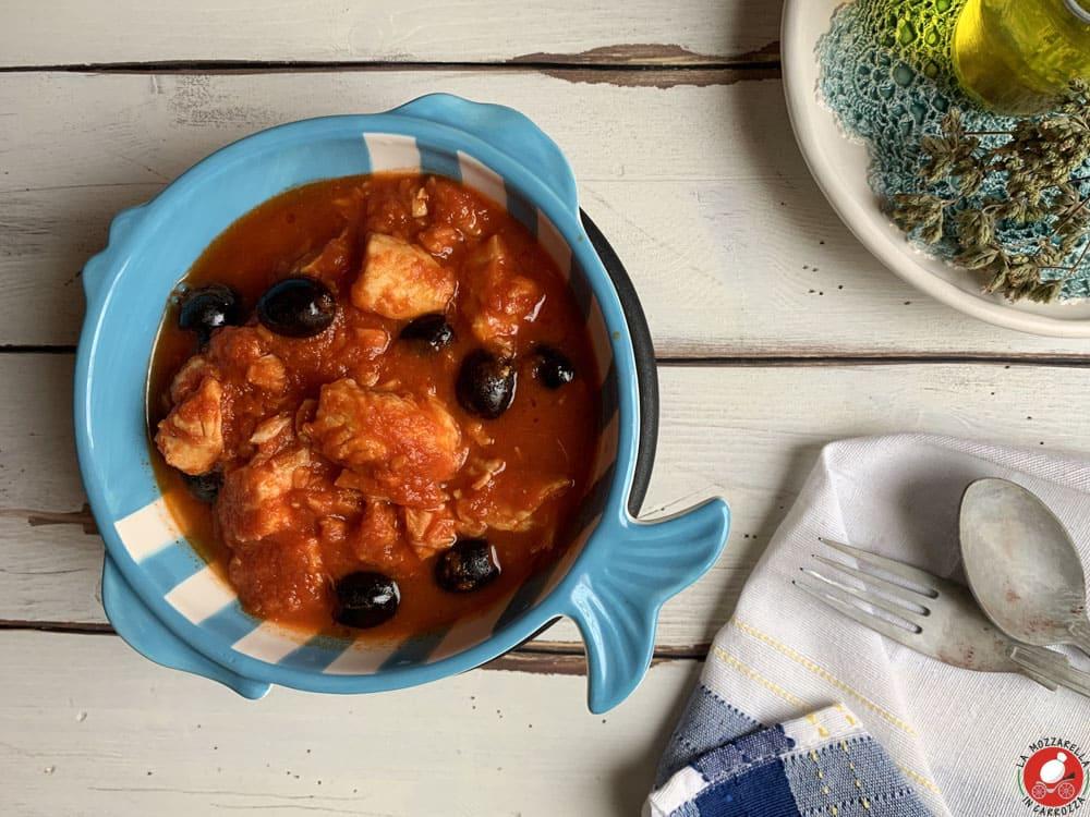 La Mozzarella In Carrozza - Mediterranean hake