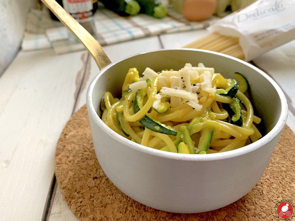 La Mozzarella In Carrozza - Carbonara di zucchine