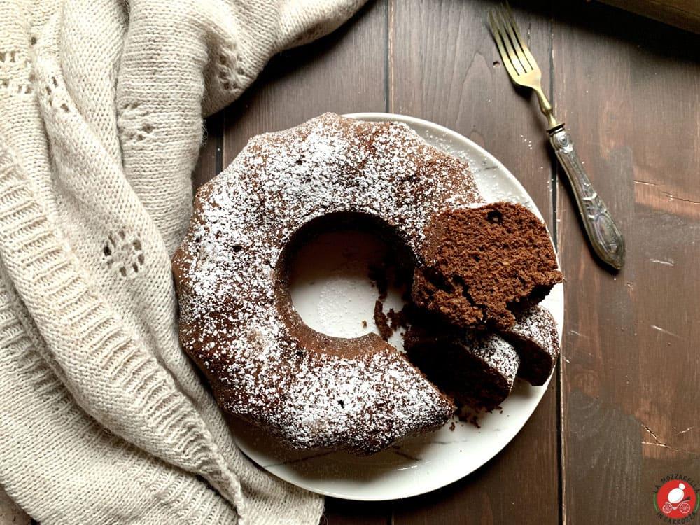 La Mozzarella in Carrozza - Chocolate angel food cake