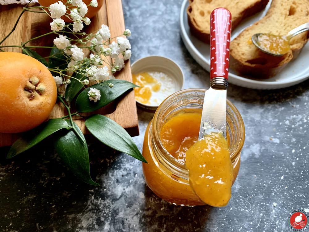 La Mozzarella in Carrozza - Loquats vanilla jam