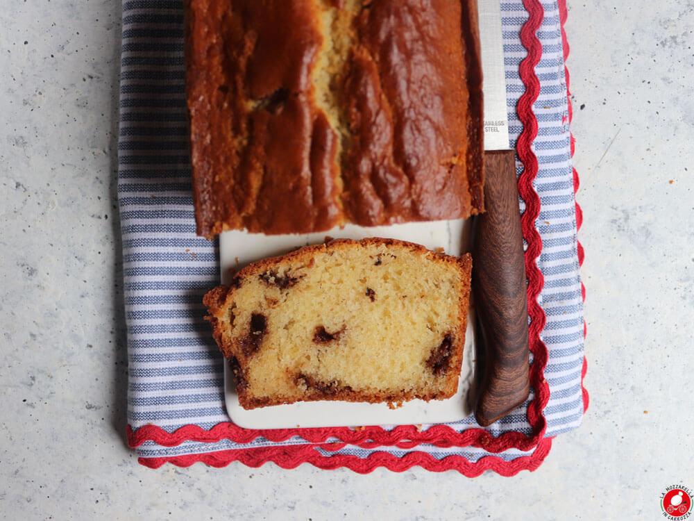 La Mozzarella In Carrozza - Plumcake con gocce di cioccolato fondente