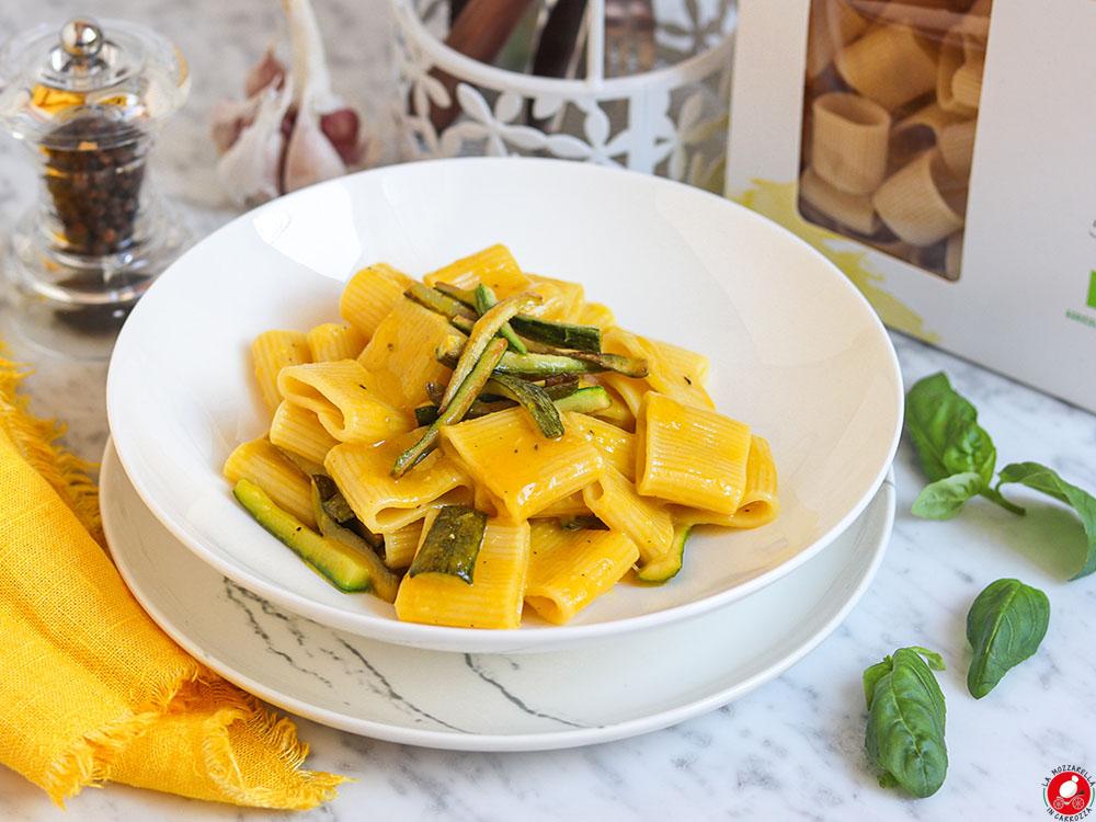 La Mozzarella In Carrozza - Zucchini carbonara