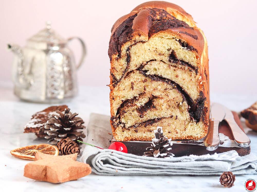 La Mozzarella In Carrozza - Babka cioccolato fondente e pistacchi