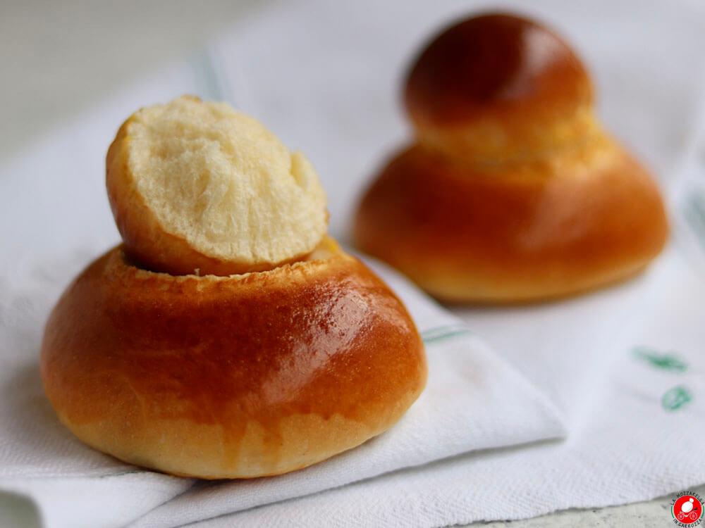 La Mozzarella In Carrozza - Sicilian brioche