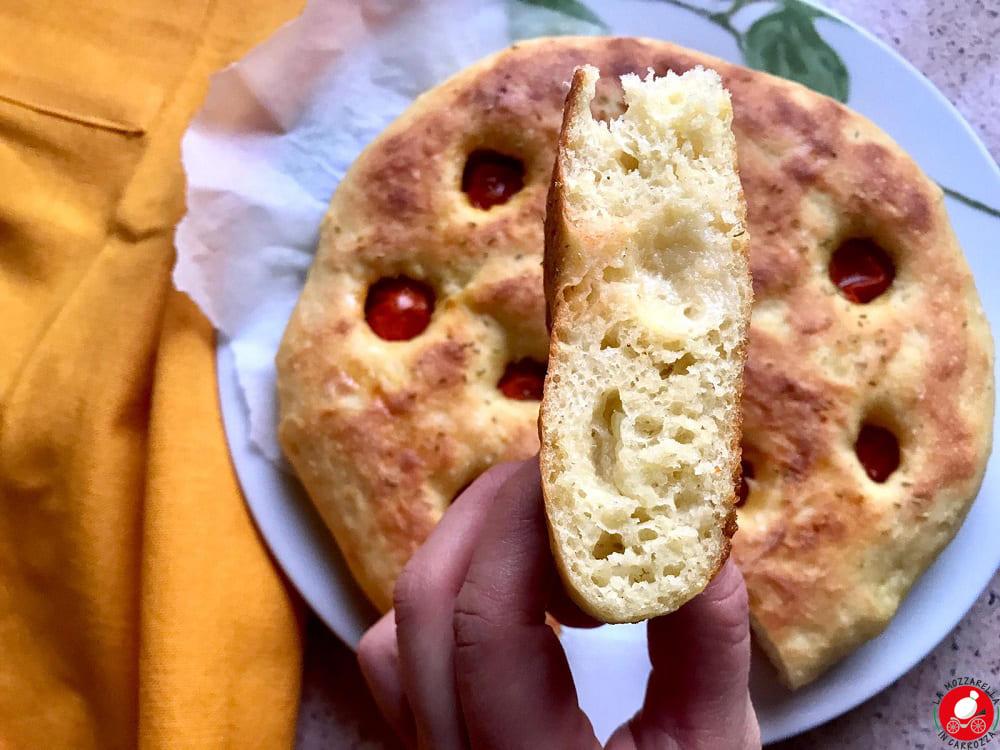 La Mozzarella in Carrozza - Focaccia pugliese
