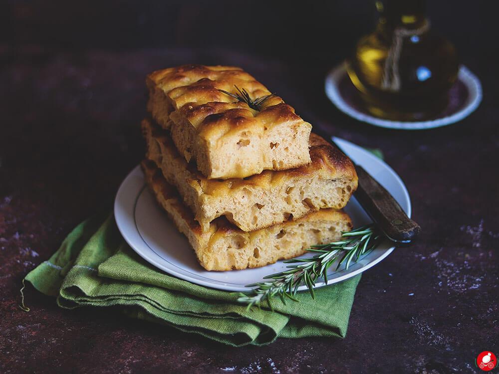 La Mozzarella In Carrozza - Pumpkin focaccia