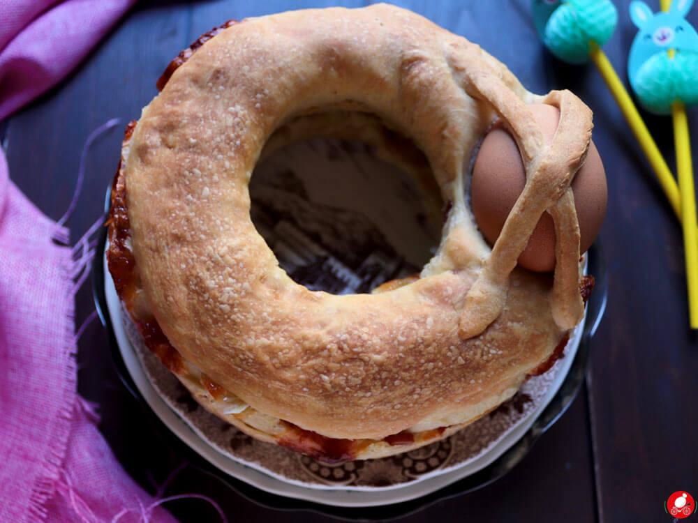 La Mozzarella In Carrozza - Casatiello