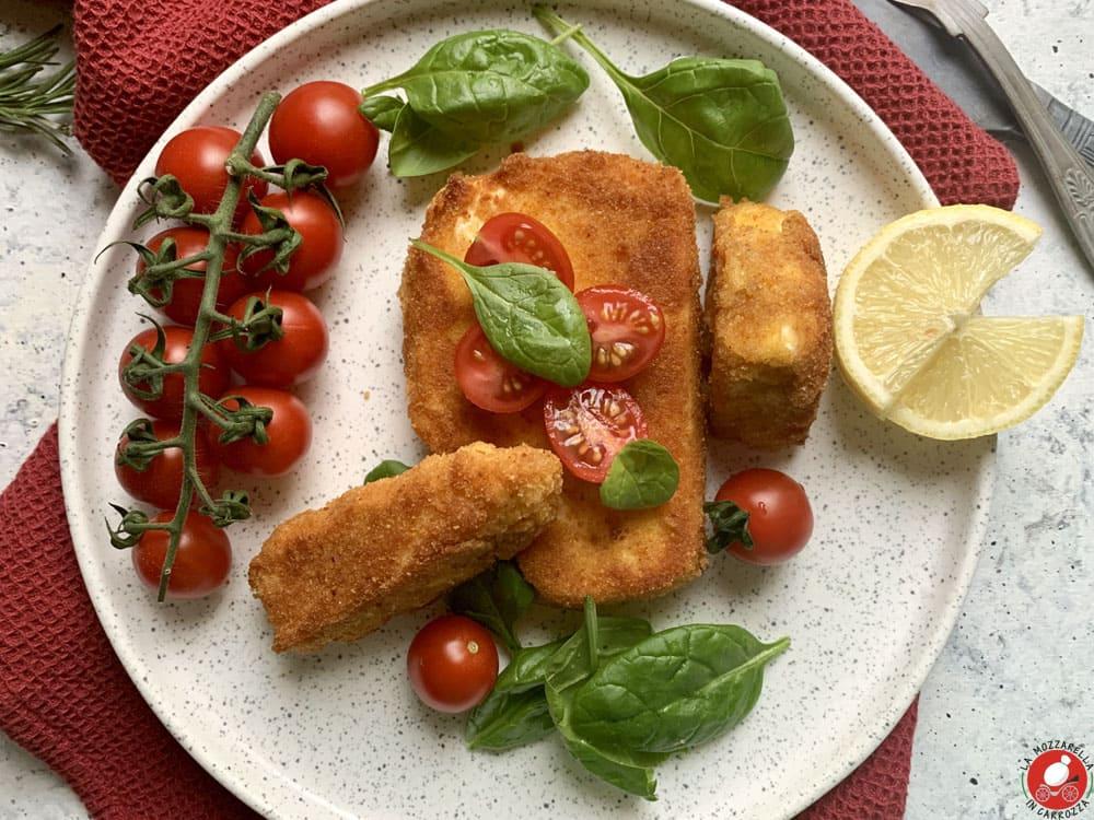 La Mozzarella In Carrozza - Feta impanata