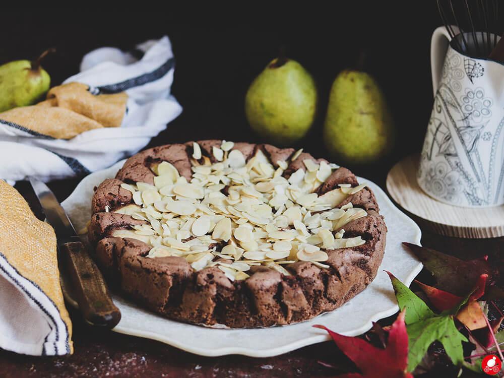 La Mozzarella In Carrozza - Torta pere e cioccolato