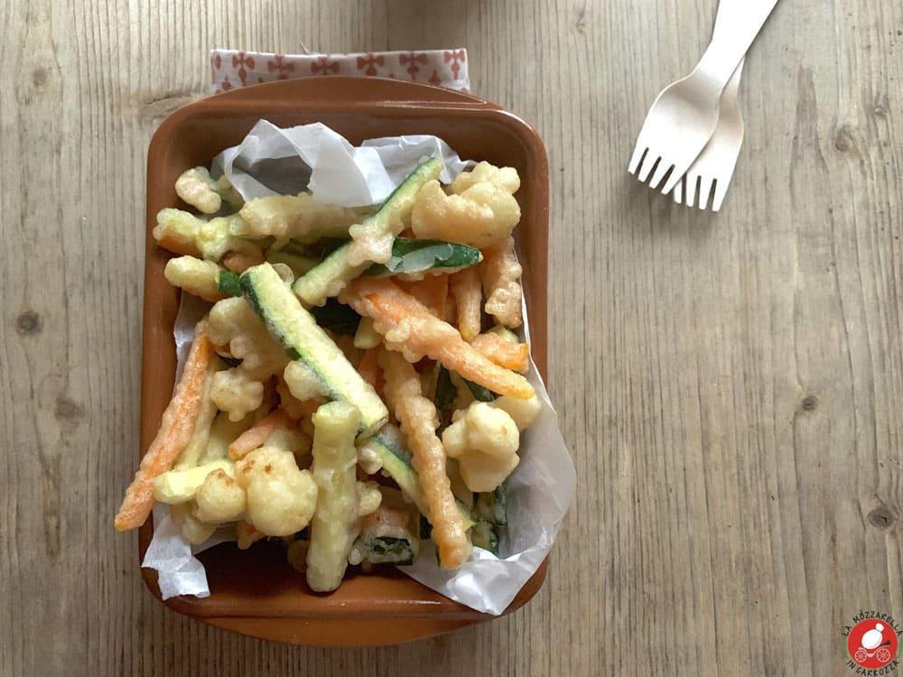 La Mozzarella in Carrozza - Verdurine in tempura