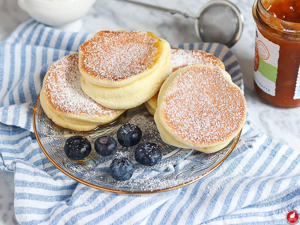 La Mozzarella In Carrozza - Japanese Pancakes