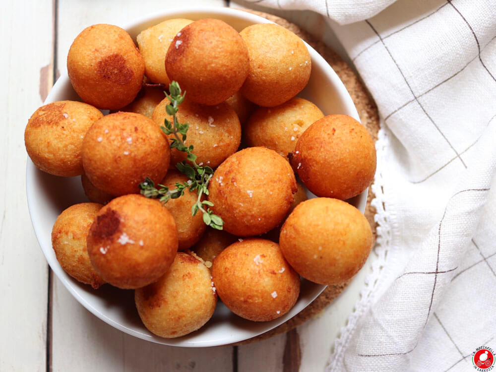 La Mozzarella In Carrozza - Polpettine furbe di patate