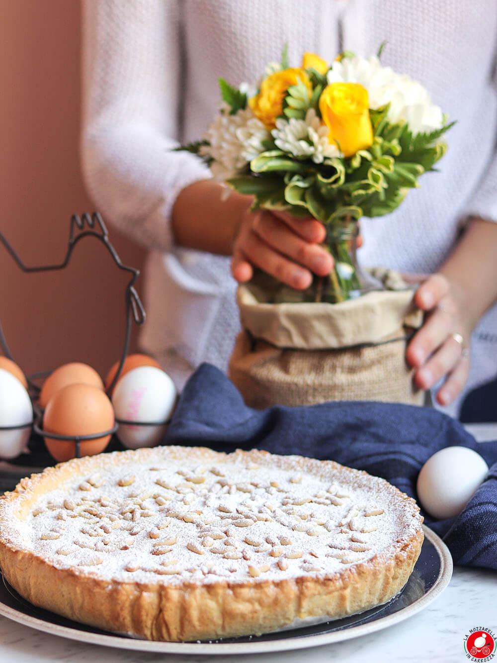 La Mozzarella In Carrozza - Torta della nonna