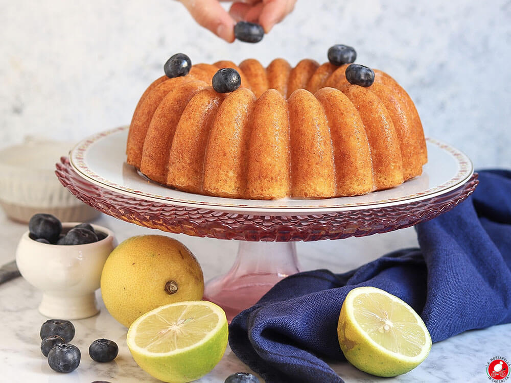 La Mozzarella In Carrozza - Lemon bundt cake