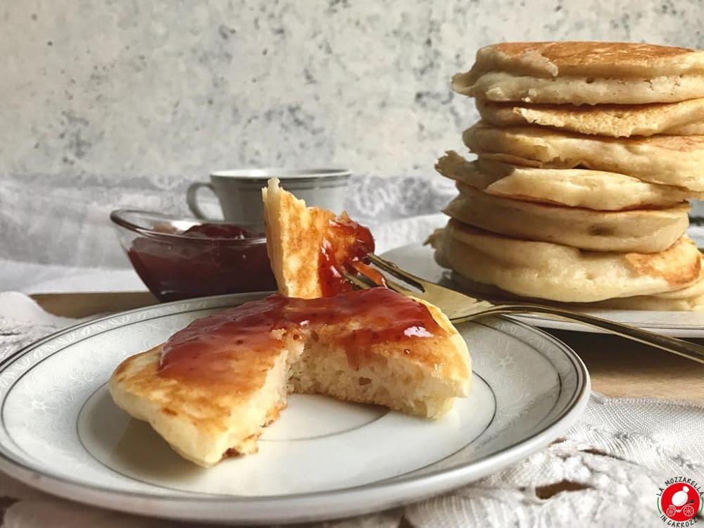 La Mozzarella in Carrozza - Pancakes