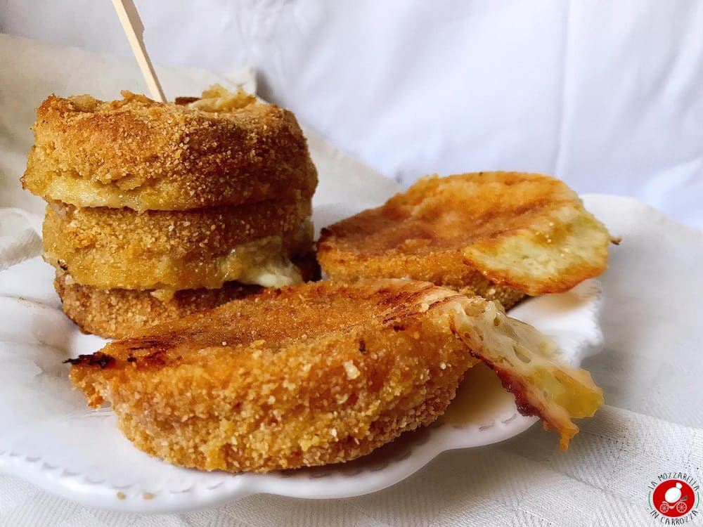 La Mozzarella In Carrozza - Pumpkin cordon bleu