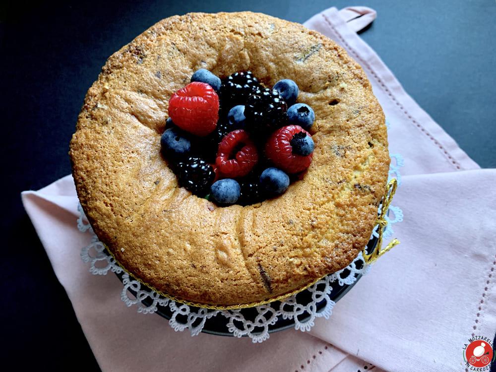 La Mozzarella in Carrozza - Stracciatella cake