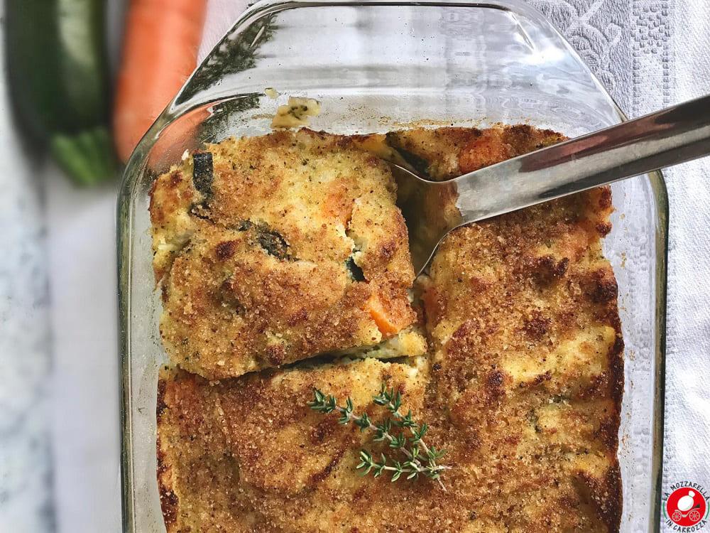 La Mozzarella In Carrozza - Tortino di verdure