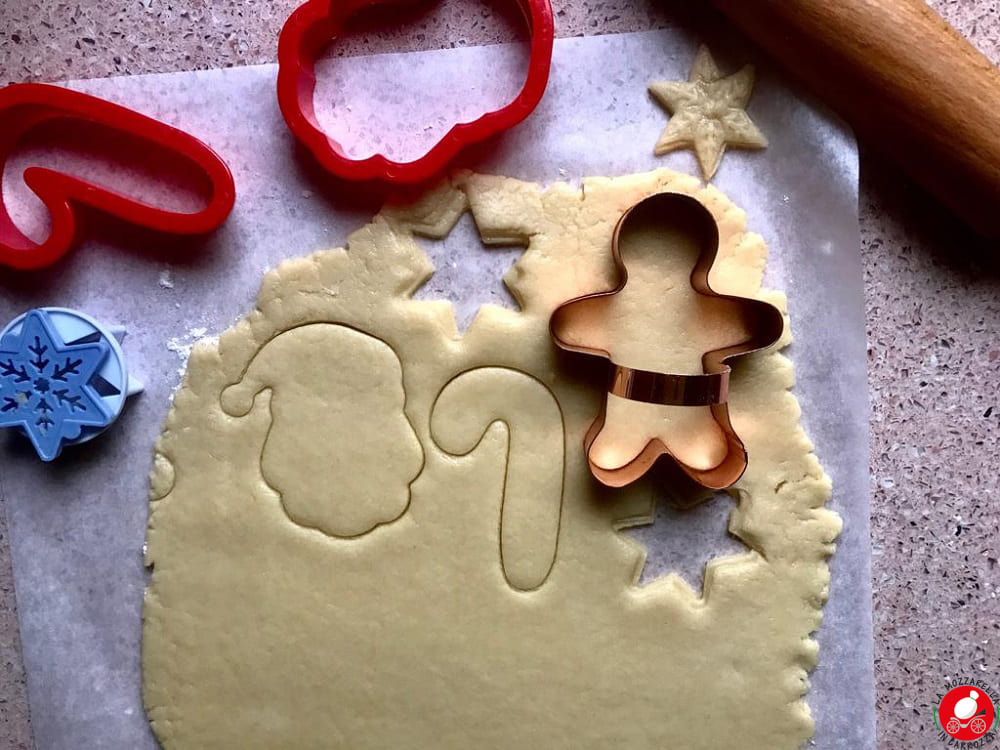 La Mozzarella in Carrozza - Biscotti con pasta frolla vegan