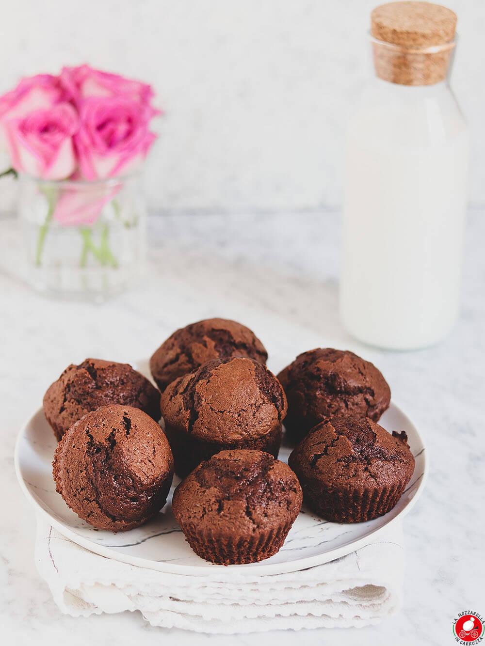 La Mozzarella In Carrozza - Muffins al cioccolato di California Bakery