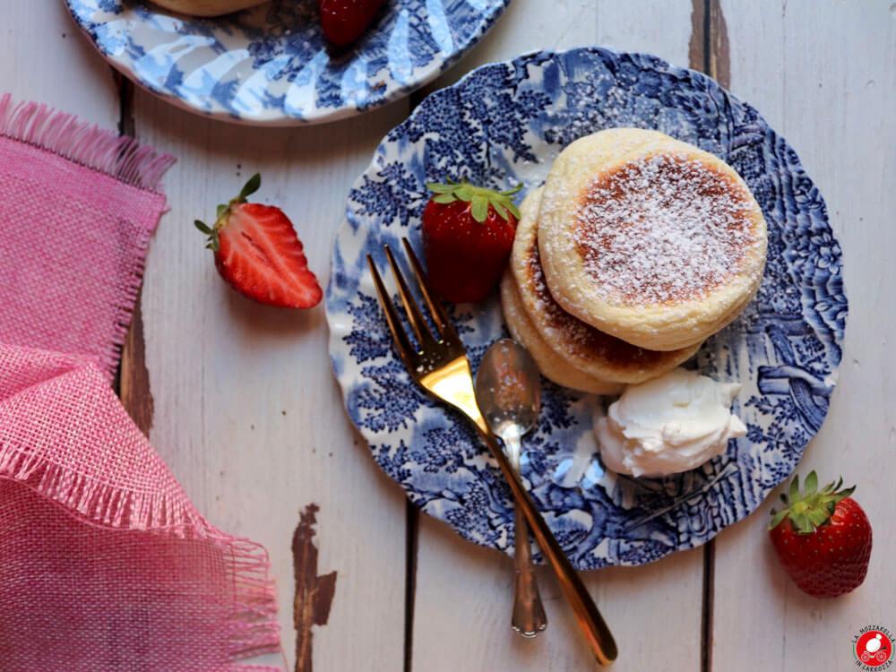 La Mozzarella In Carrozza - Fluffy Japanese Pancakes