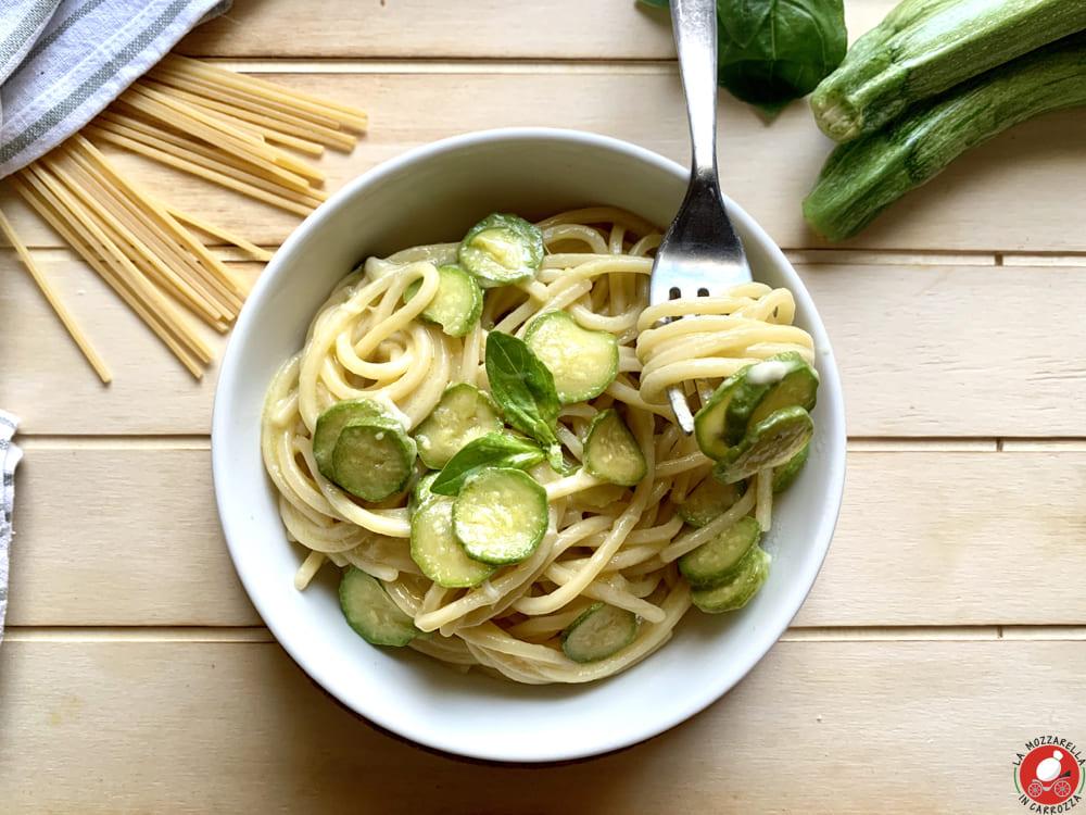 La Mozzarella In Carrozza - Spaghetti alla Nerano