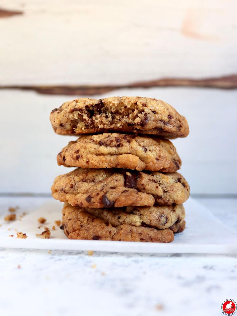 La Mozzarella In Carrozza - Cookies con gocce di cioccolato