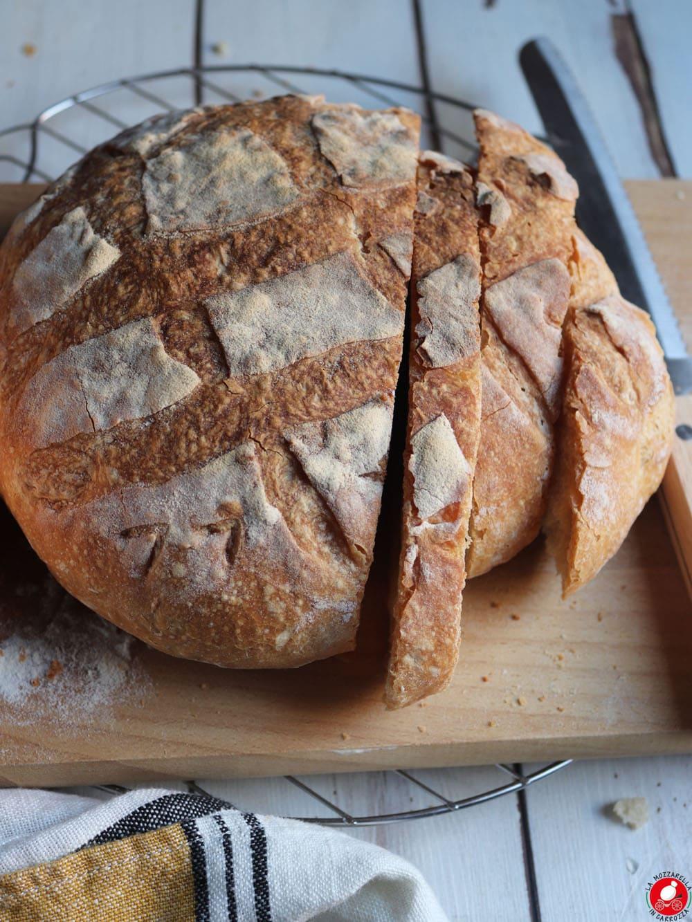 La Mozzarella In Carrozza - Pane fatto in casa