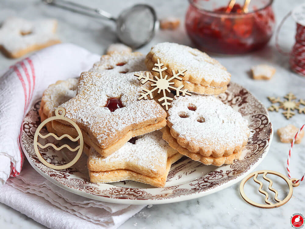 La Mozzarella In Carrozza - Linzer cookies