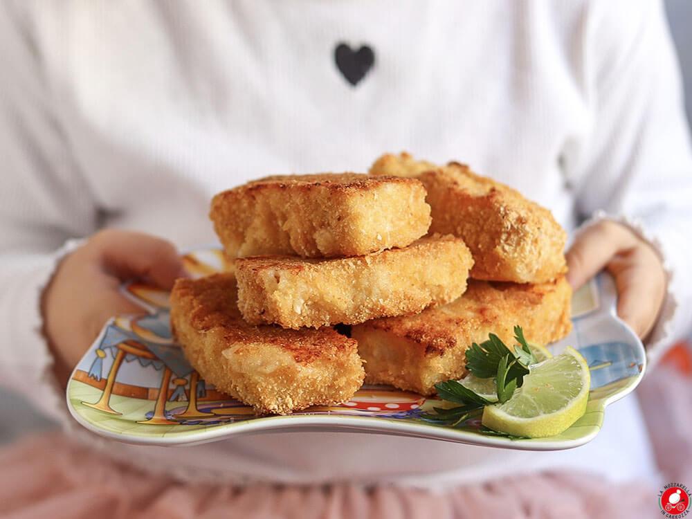 La Mozzarella In Carrozza - Homemade fish fingers