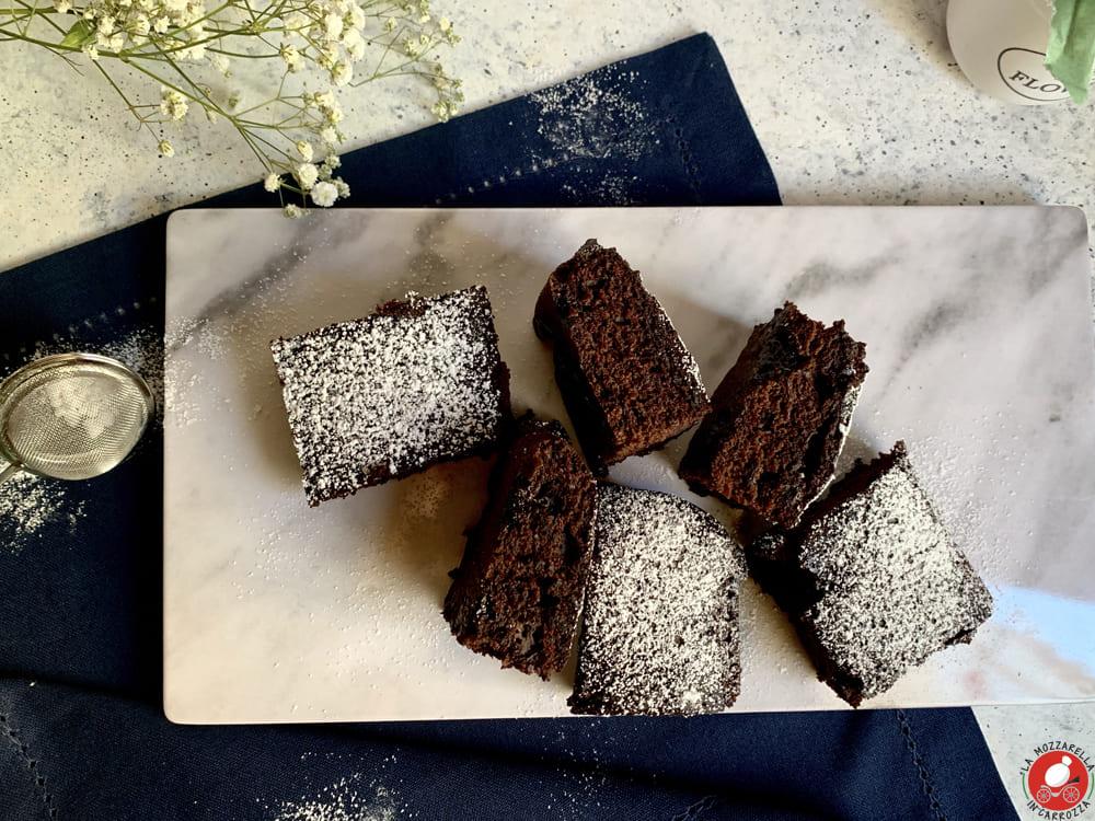 La Mozzarella in Carrozza - Torta matta al cioccolato